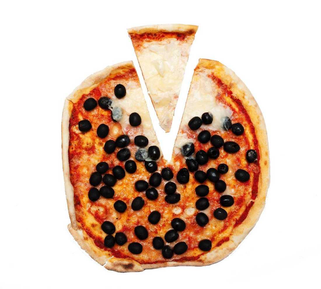 En var felfri  Av tio pizzerior som besöktes var bara en helt vit – lika vit som mozzarella.