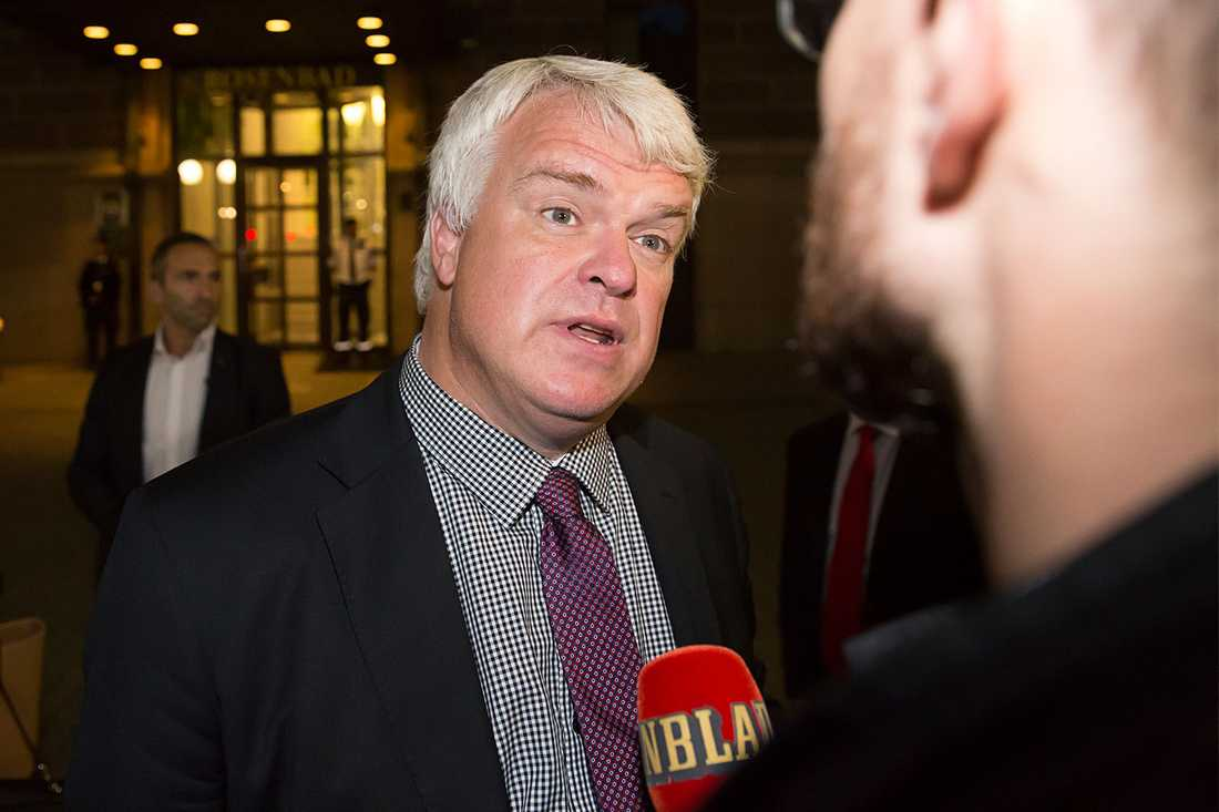 Michael Arthursson (C), partisekreterare.