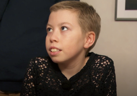 "10-åriga Ida i ""Sofias änglar""."
