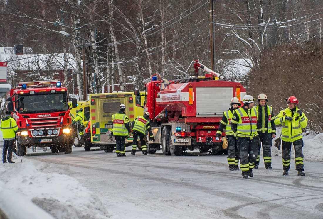 Trafikolycka i Ludvika.