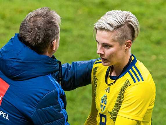 "Lina Hurtig hyllas efter målet: ""Spetskvalitet"""