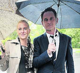 "Thomas ""Orup"" Eriksson med hustrun Pernilla."
