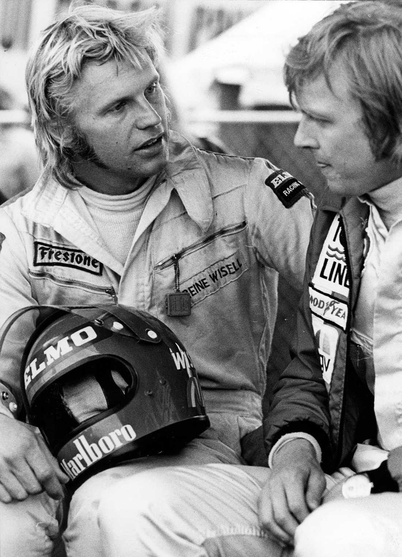 Reine Wisell Född: 30 september 1941. År i F1: 1970–1974. GP-starter: 22. Bästa placering: 3:a. Bästa VM-placering: 12:a, 1971
