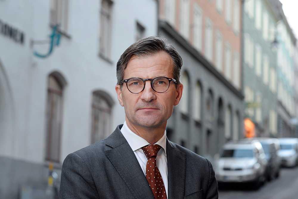 Finansinspektionens generaldirektör Erik Thedéen.