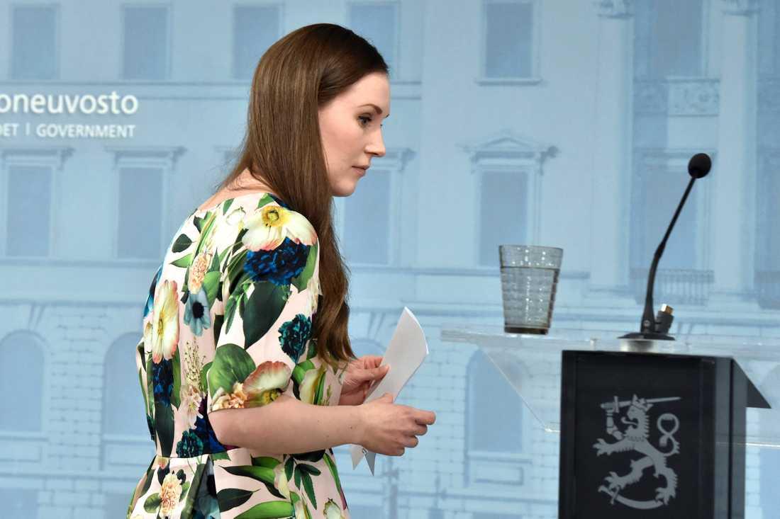 Finlands statsminister Sanna Marin leder en allt mer rörig regering genom coronakrisen.