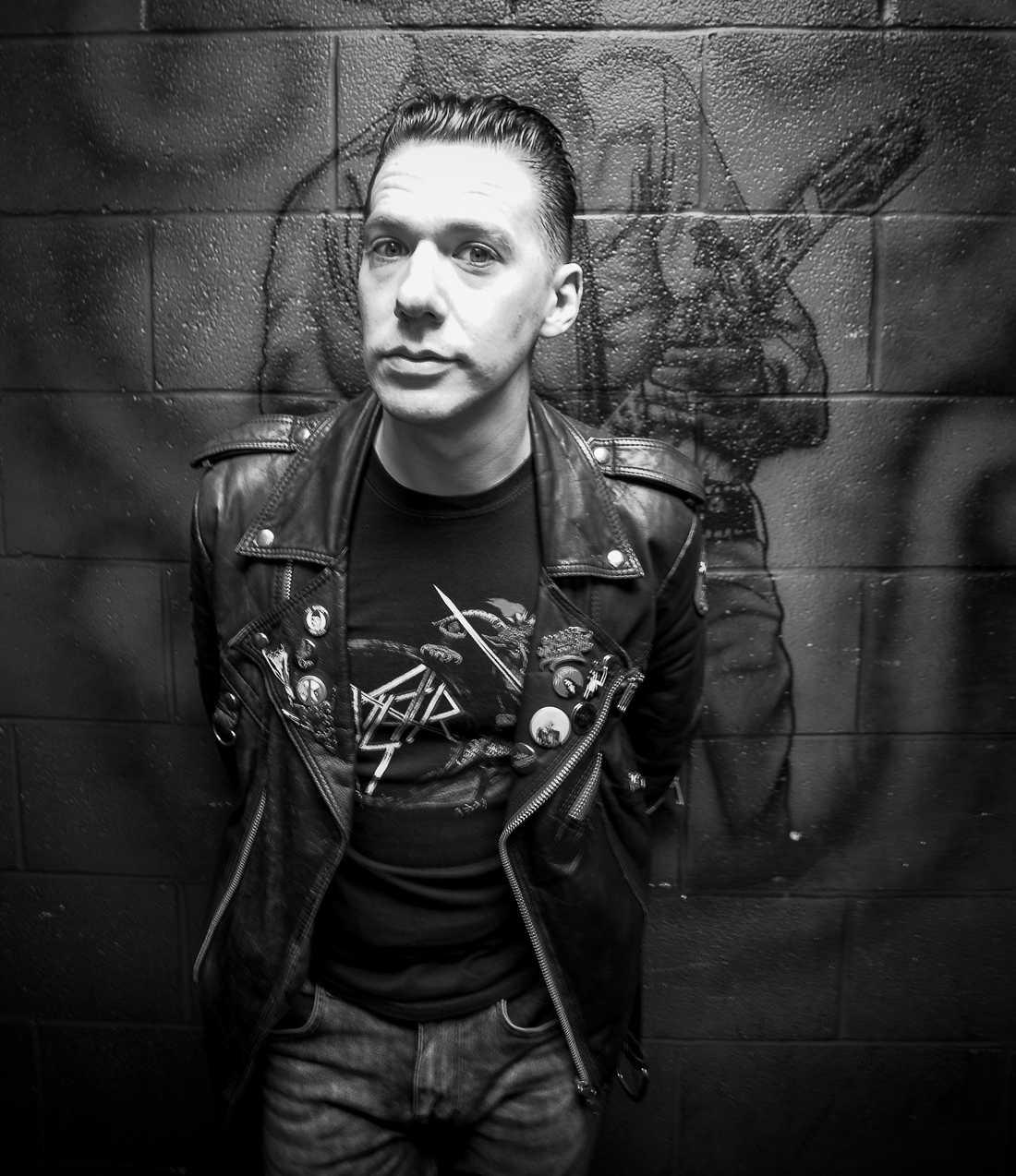 Tobias Forge, frontman i svenska hårdrocksbandet Ghost