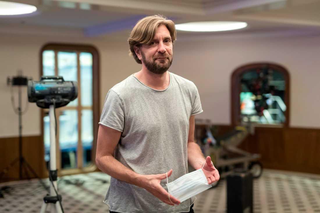 """Ruben Östlund klipper just nu klart sin nya film """"Triangle of sadness"""" men har redan börjat utveckla nästa film. Arkivbild."""