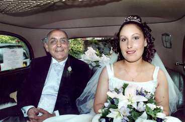 ingen anade Terry Rodgers delade limousin med sin dotter Chanel Taylor på väg till hennes bröllop. Sju veckor senare sköt han henne till döds.