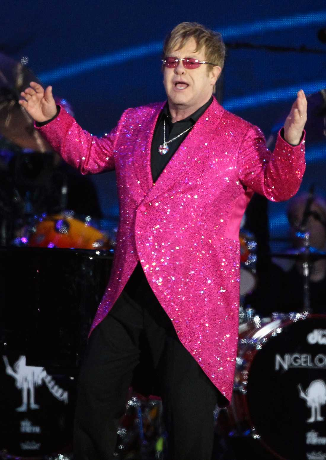 Elton John – en rosa herre.