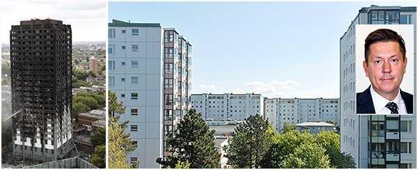 Mats Engström efter Grenfell Tower-branden i London: Även i Sverige måste vi snabbt uppgradera brandskyddet i våra moderna höghusområden.