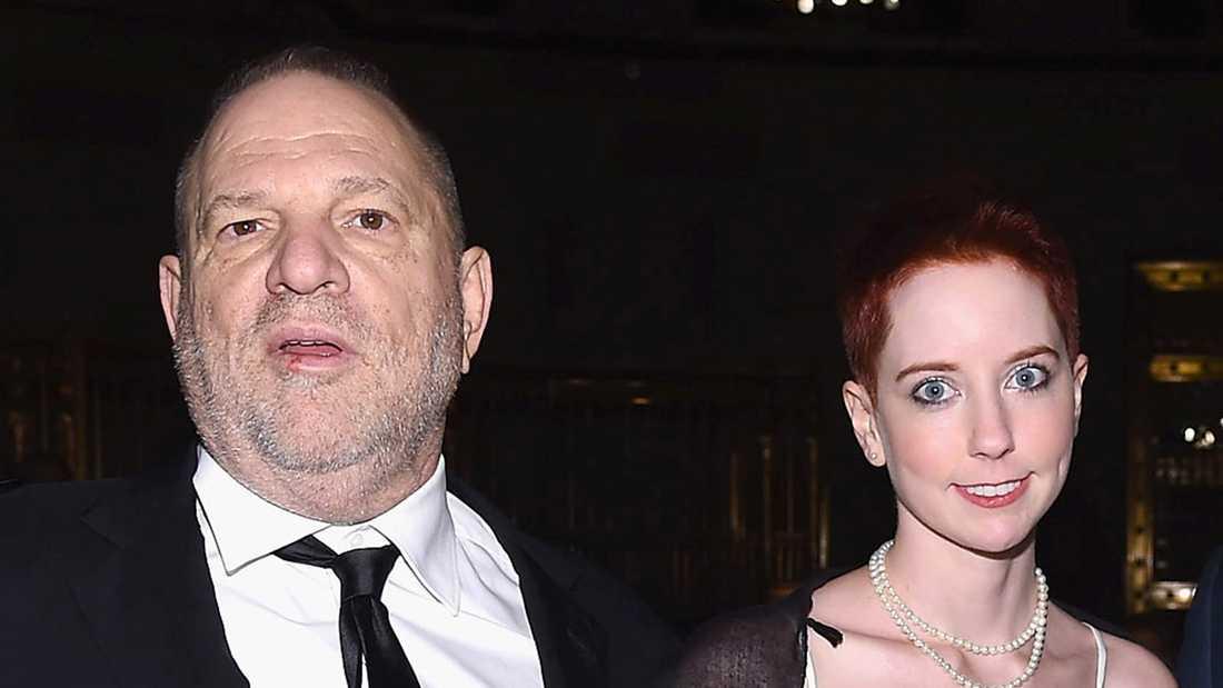 Harvey Weinstein med dottern Remy Lily.