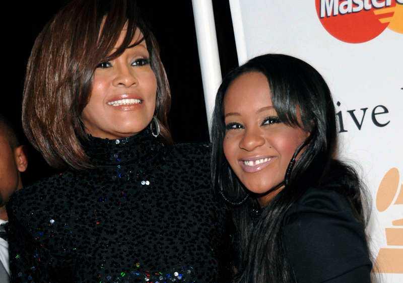 Whitney Houston och Bobbi Kristina Brown.