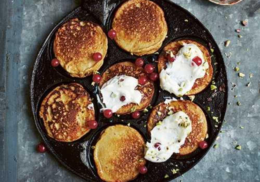 Bjud på amerikanska plättar till frukost?