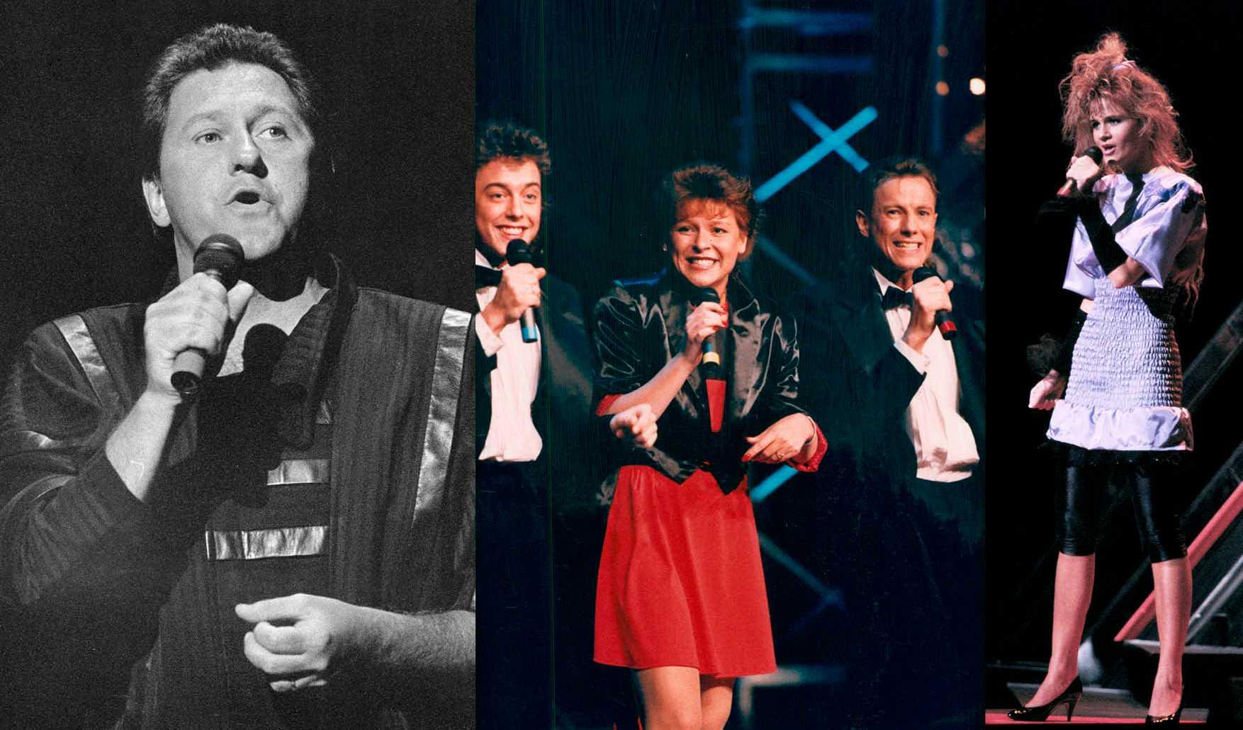 Tommy Körberg, Lotta Engberg, Lena Philipsson.