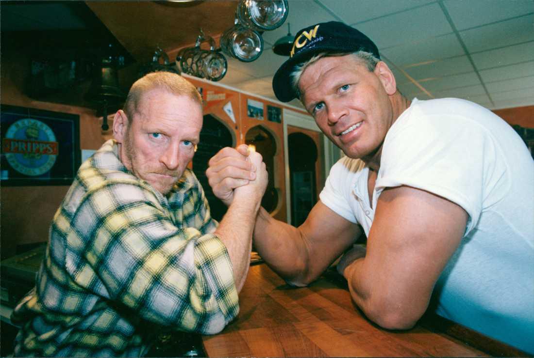 """Lennart """"Hoa-Hoa"""" Dahlgren och Frank Andersson var kompisar. Under Anderssons sista år i livet träffades de två inte mycket."""