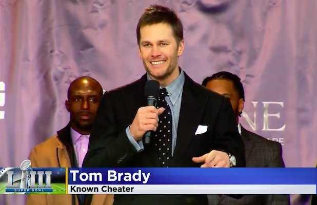 Här är Tom Brady-grafiken som fick en tv-producent sparkad.