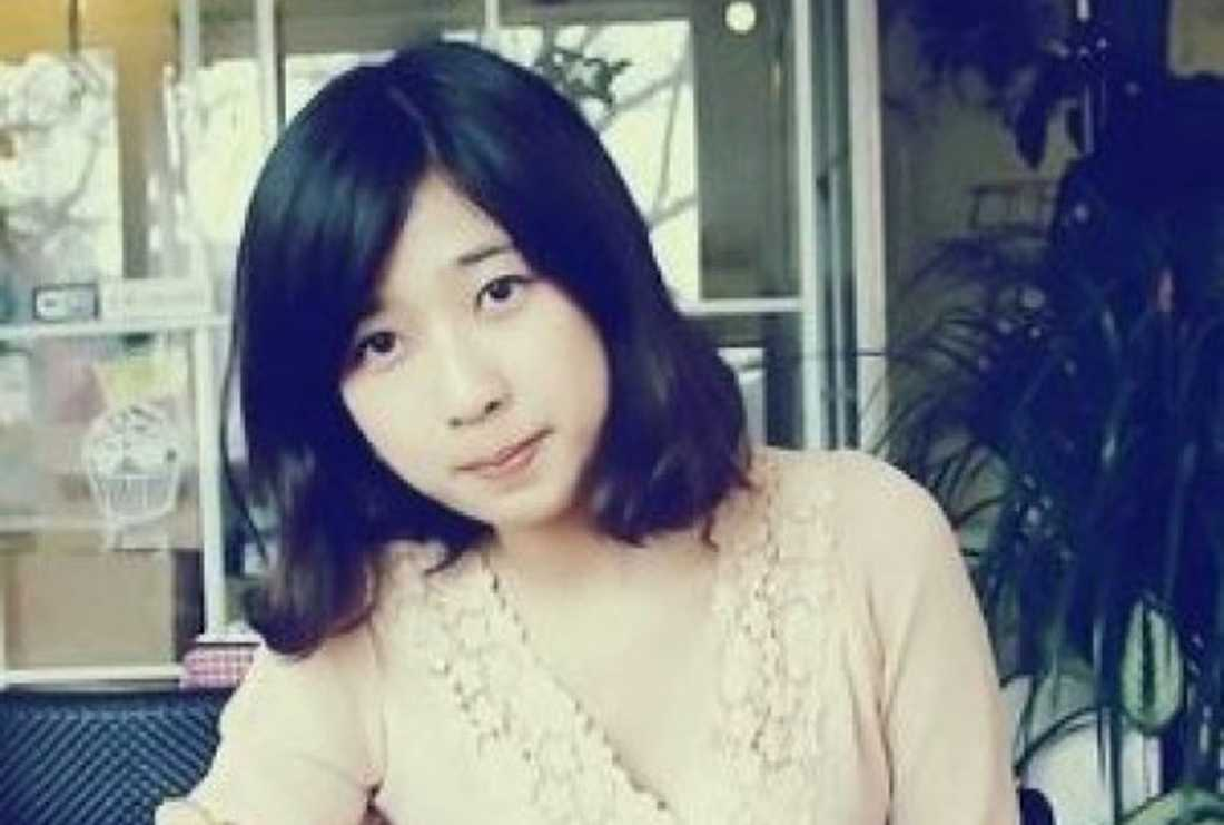 Studenten Lu Lingzi, 23, blev ett av terrorbombernas tre dödsoffer.
