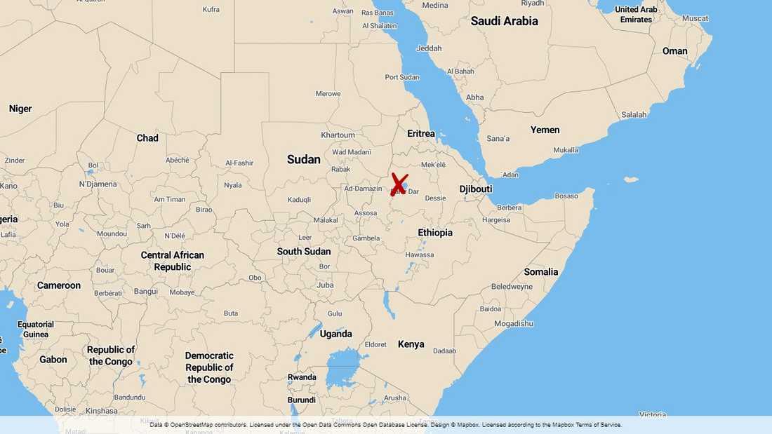 Minst tio personer omkom och 100–150 skadades när en läktare kollapsade under ett religiöst firande i staden Gonder i Etiopien.