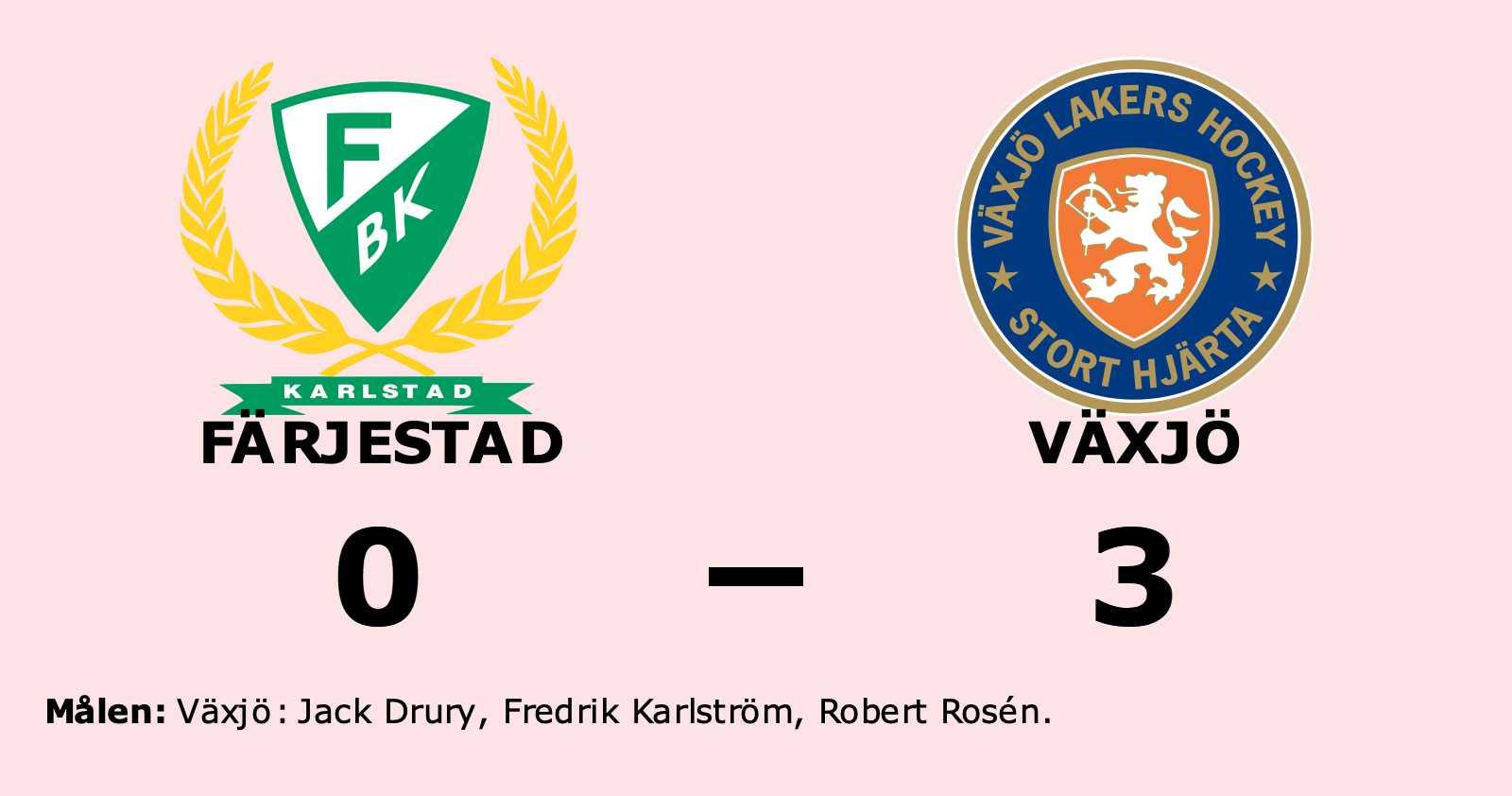 Fyra matchbollar för Växjö efter ny seger