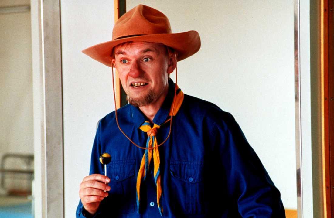 """Johan Ulvesson som """"Farbror Bosse"""" i Yrrol på SVT"""