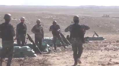 Irakisk militär inleder en militäroffensiv för att återta västra Mosul i Irak