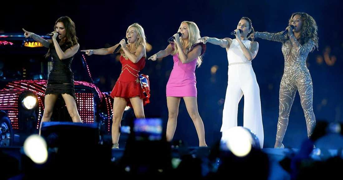 Spice Girls, här under OS-invigningen i London, splittrades år 2000.