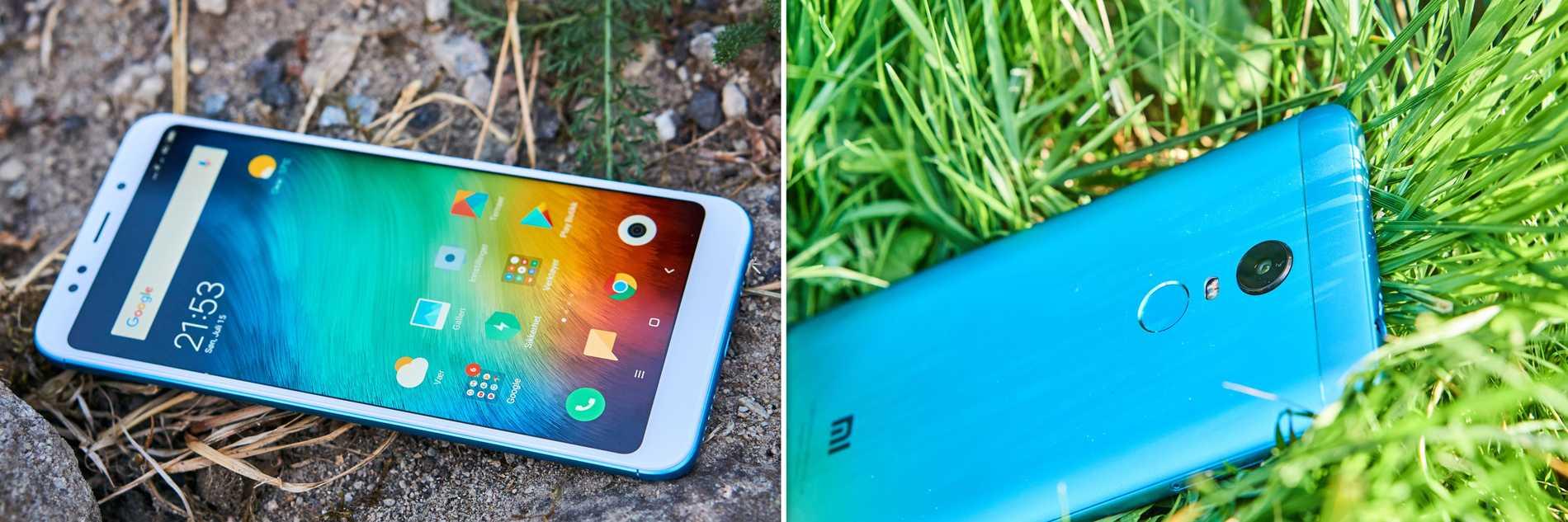 Xiaomi Redmi 5 Plus ser modern och fräck ut.