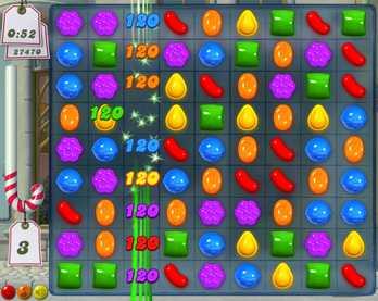 """Svenska """"Candy crush saga"""" är världens just nu största Facebook-spel."""