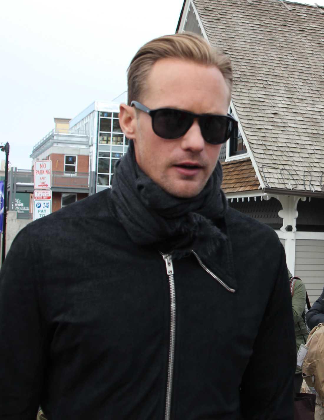 Alexander Skarsgård på Sundance-festivalen.