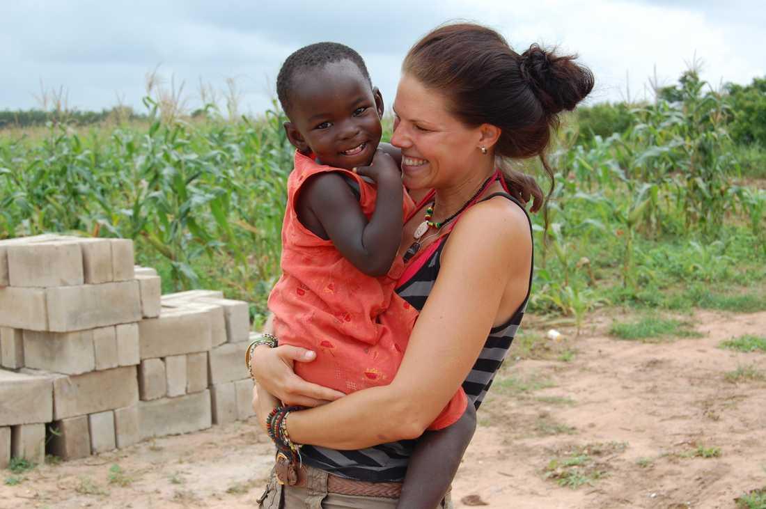 """Efter en livskris hittade Jenni en ny mening med livet. """"Känslan av att göra skillnad är oslagbar"""", säger hon."""