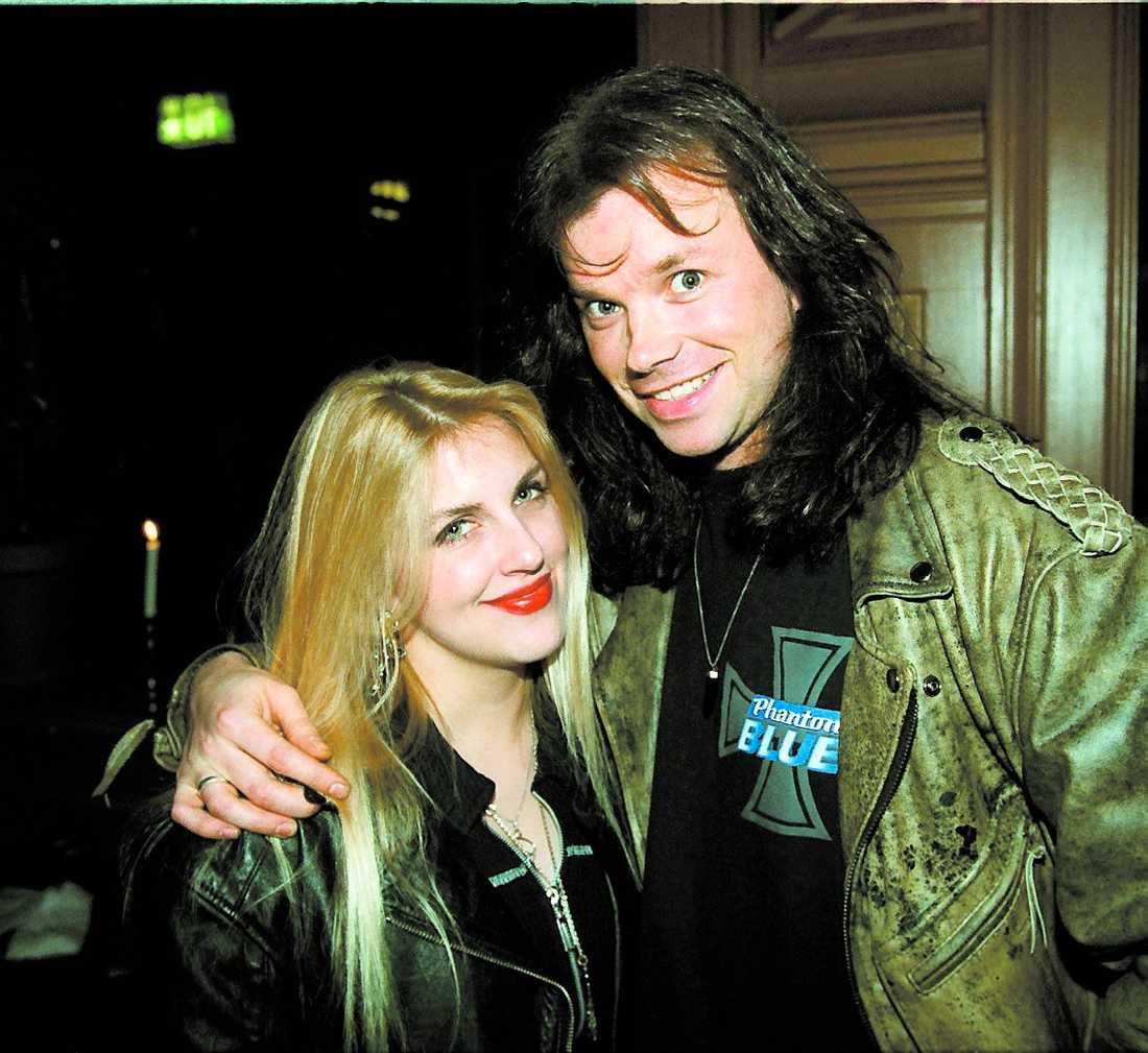 John Norum och Michelle Meldrum blev ett par på 90-talet.