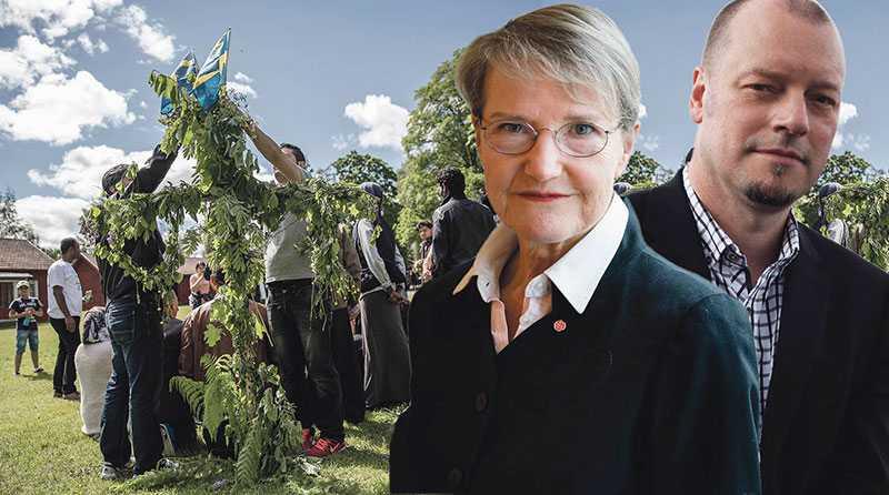 Lyckligtvis finns det runt om i Sverige gott om belägg för att en effektiv integration är möjlig, skriver Kristina Persson och Jesper Strömbäck. Bilden är ett montage.