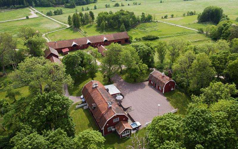 Eriksson sålde sin lyxgård för 37 miljoner kronor