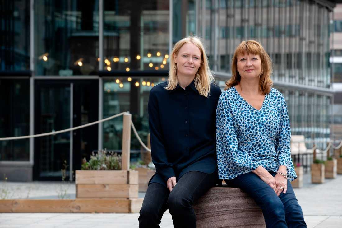 Kristina Edblom och Kersin Weigl