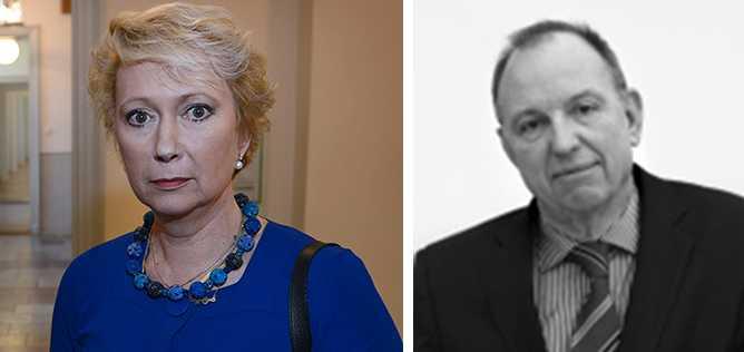 Advokaterna Monica Behm och Per-Hans Berg.