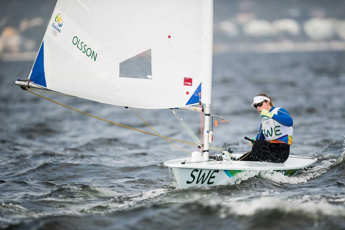 Josefin Olsson under OS i Rio 2016 där hon slutade sexa.