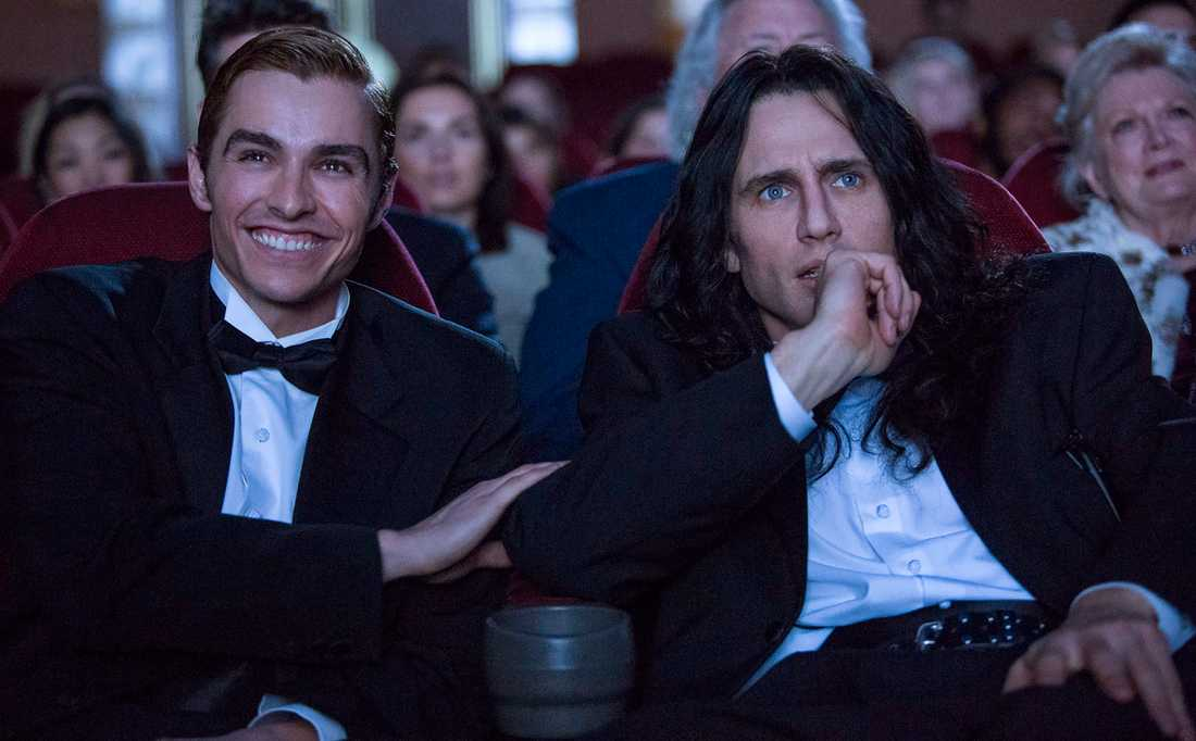 "scen från ""The disaster artist""."