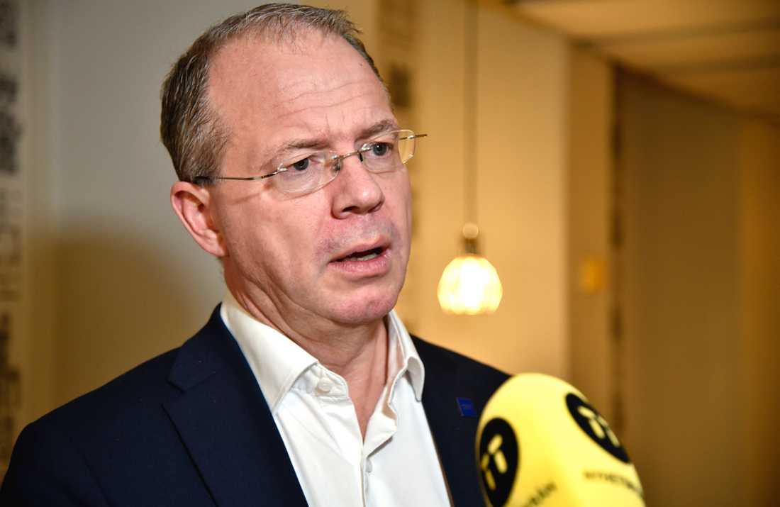 Jackpot för Volvo AB:s vd Martin Lundstedt. Arkivbild.