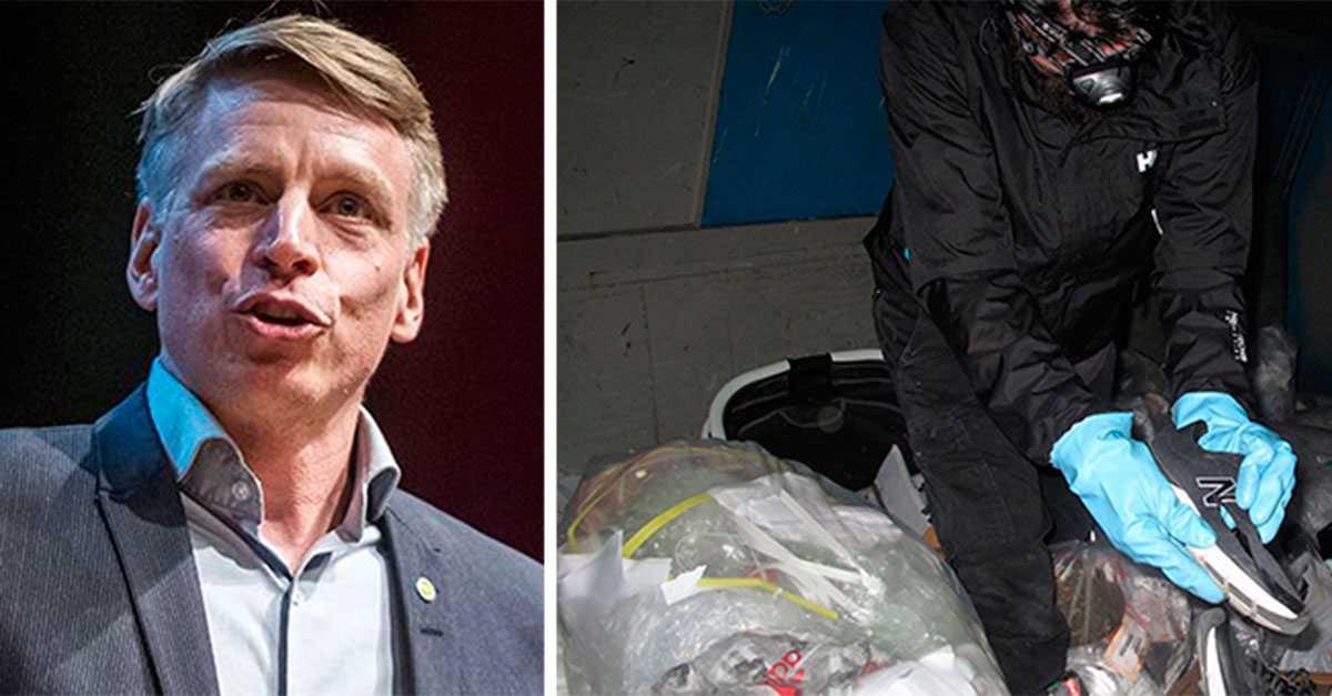 910787663f65 Per Bolund vill förbjuda affärer att slänga nya kläder | Aftonbladet