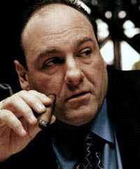 """""""Nyktre alkoholisten"""" James Gandolfini festade i New York."""