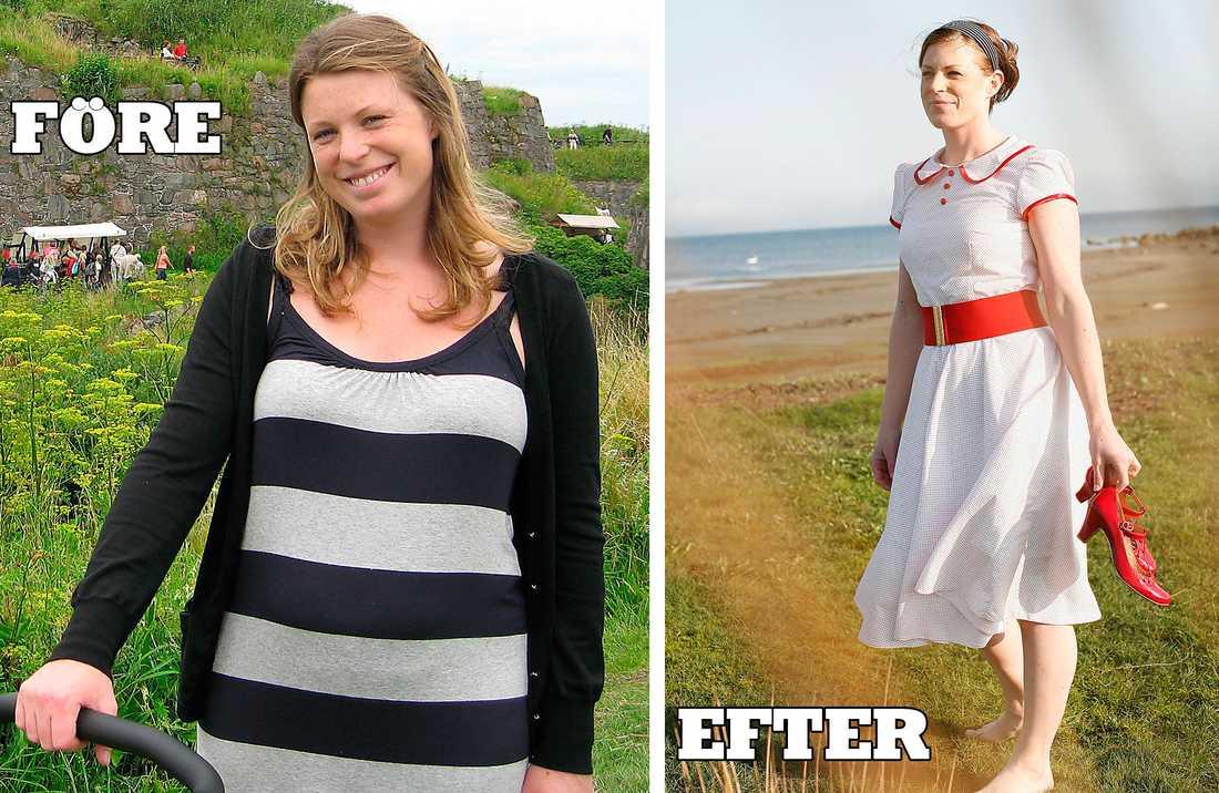 gå ner i vikt efter graviditet kost