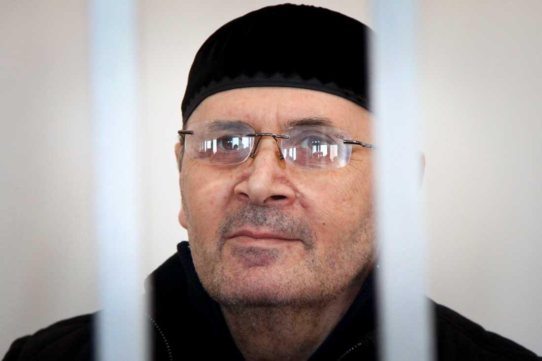 Oyub Titiev, chef för människorättsgruppen Memorials tjetjenska avdelning får Europarådets människorättspris. Arkivbild.