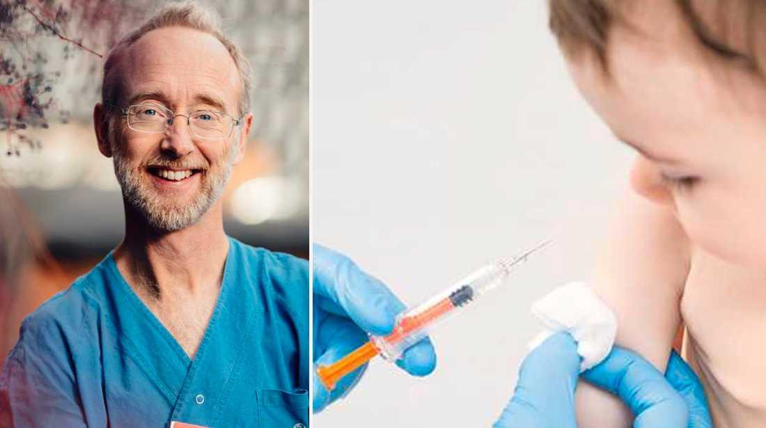 Jonas F Ludvigsson om varför man vaccinerar barn deras första månader i livet.