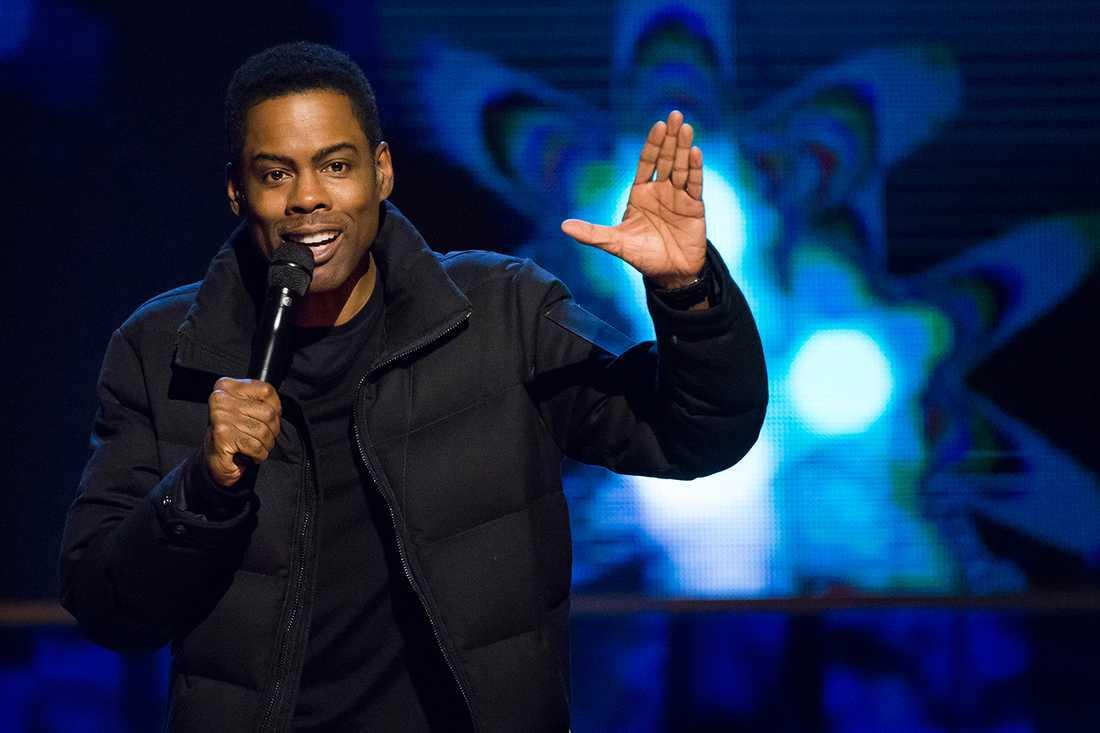 Chris Rock är värd för Oscarsgalan.