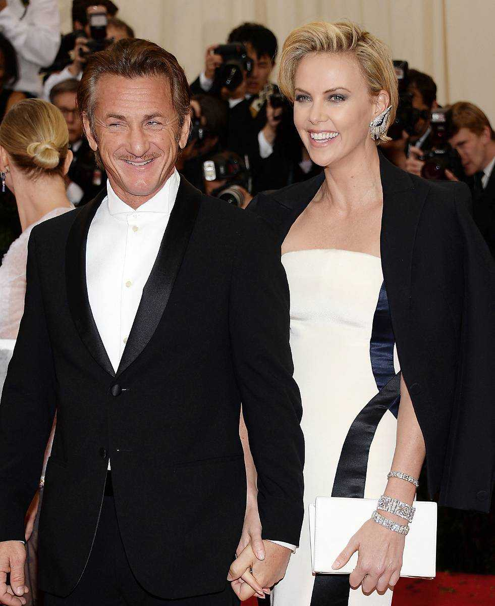 Sean Penn och Charlize Theron.