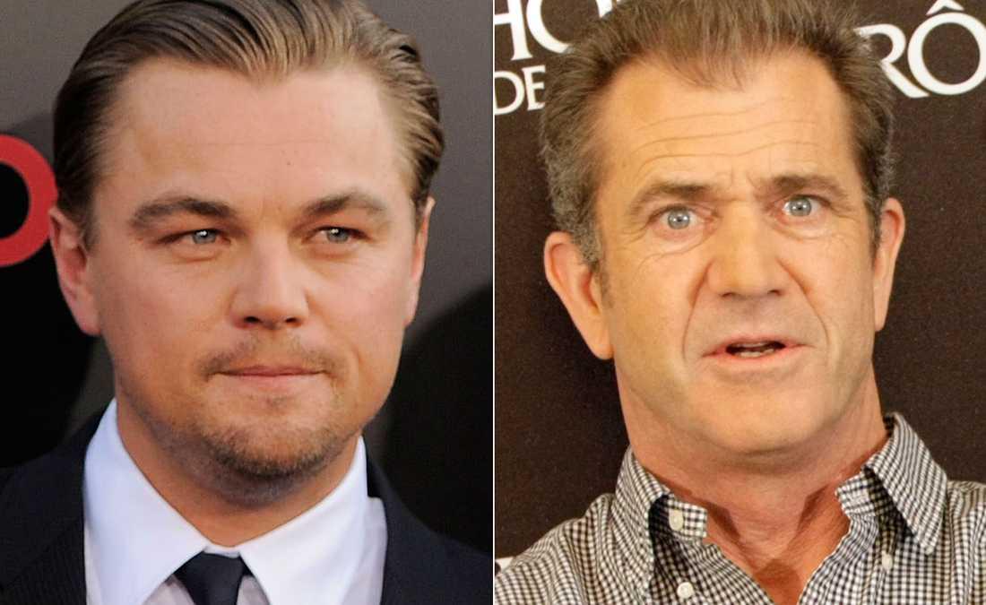 DiCaprio vill inte göra film med Gibson.