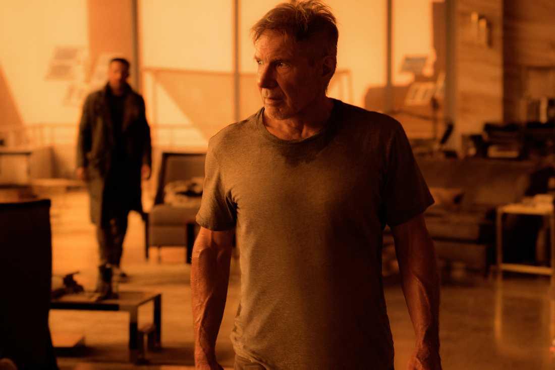"""Harrison Ford i nya """"Blade runner"""" där färgen gul kommer ha en viktig innerbörd."""