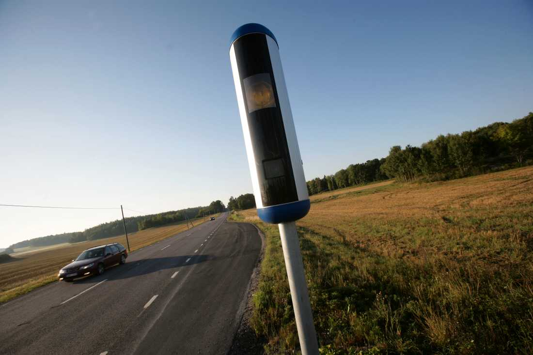 Enligt passagerarna gjorde föraren flera farliga omkörningar och körde långt över hastighetsgränsen. Arkivbild.