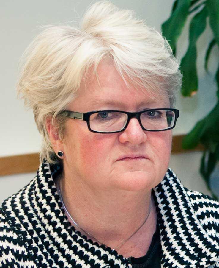 Carina Ohlsson, ordförande i S-kvinnor.