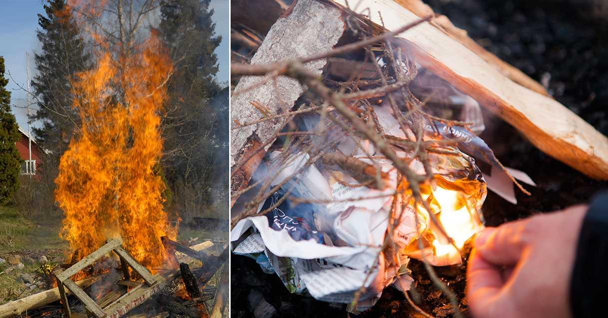 Trotsar eldningslarmet i påsk – flera larm om bränder